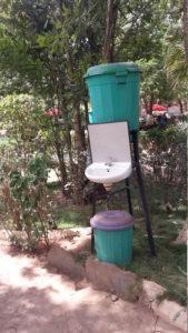 Waschgelegenheiten in Ouagadougou